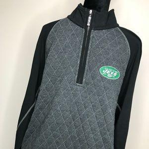 NWT Tommy Bahama NFL New York Jets Pullover Jacket